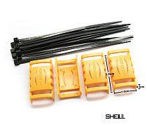4pcs/set Speed Controller ESC Protective shell Protection Cover for RC Drone Quadcopter