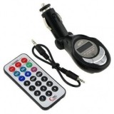 206 Channels 12/24V Foldable Car MP3 Player Wireless FM Transmitter Modulator USB SD/TF Slot Card + Remote Control