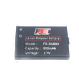 3.7V 800mAh Lipo Battery AKKU For FS-GT3C FS-GT2B RC Car Controller Transmitter