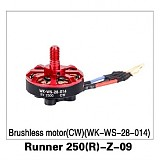 Original Walkera Runner 250 Advance drone accessories parts Brushless motor(CW )(WK-WS-28-014) Runner 250(R)-Z-09