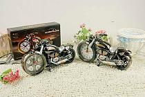 Personality Motorcycle Model Alarm Clock Plastic Best Gift Chirstmas Birthday NewYear