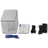 Acasis K302 Tool Free Aluminum 4 Bay 3.5 SATA USB3.0 HDD External Docking Station RAID Function 4bay 5Gbps HDD Case