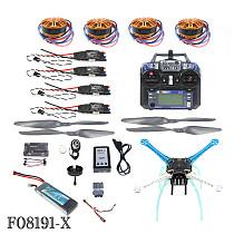 JMT 2.4G 6ch RC Quadcopter Drone 500mm S500-PCB APM2.8 M8N GPS RTF Full Kit DIY Unassembly Brushless Motor ESC Battery