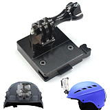 OEM Gopro Helmet CNC Aluminum Mount base Adapter Buckle with Screw for GoPro HERO3/3+/4/5 Accessories