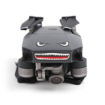 Shark Sticker Drone Body Paster Adhesive Skin Sticker Face Decals for DJI Mavic Pro DIY Accessories Aircraft Frame Spare