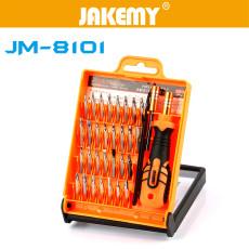 JAKEMY 33 in1 Multifunctional Precision Screwdriver Set Phone Laptop Mini Electronic Screwdriver Bits Repair Tools Kit