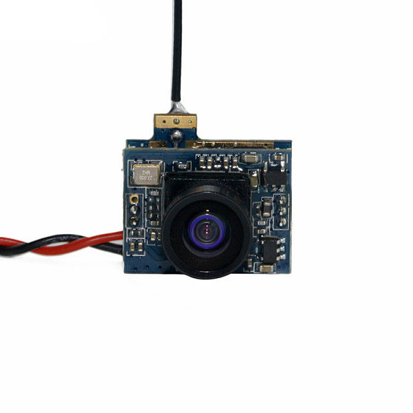 Integrated 5.8G 25mw 32CH Transmitter 520TVL Camera CM25 for Indoor Brush FPV Drone