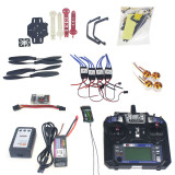 Full Set RC Drone Quadrocopter 4-axis Aircraft Kit F330 MultiCopter Frame QQ Super Flight Control Flysky FS-i6 Transmitt