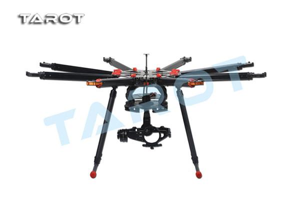 Tarot X8 8 Aixs Umbrella Type Folding Multicopter Uav Octocopter Drone TL8X000 With Retractable Landing Gear