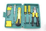 S00401 11 Pieces Set of Car Repair Kit Car Emergency Kit Combination Suit Auto Supplies Backup Tool