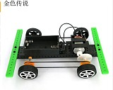 DIY 4x4 Raider buggies No.2 Small Production technology Model Science Assembling Toys Model 15*10*4cm
