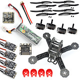 DIY Toys RC FPV Drone Mini Racer Quadcopter Kit 190mm SP Racing F3 Deluxe Flight Controller 2200mah Battery