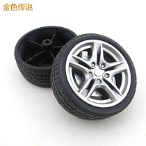 JMT Outside diameter 40mm / 48mm Simulation Wheel 1:10 Tire Wheel Rubber Wheel Toy Model Accessories DIY RC Spare Parts