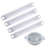 XK 2 XK350 005 Night Flight Led Light Cover Spare Parts for XK 350 RC Drone Helicopter RC Quadcopter UAV