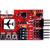 JCX-M6 M6 Flight Controller (Digital gyro) for RC Fixed-wing Airplane V-tail Model Plane FPV