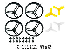 2.3 Inch Propeller Prop Guard Protector Bumper All Surround with 4 pairs 2345 Propeller