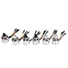6 pcs/Lot D2212 920KV Clockwise Counter-clockwise CW CCW Brushless Motor Set for DJI Phantom S500 F550 Multirotor