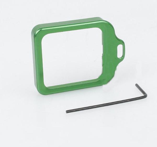 CNC Aluminum Lanyard Ring Lens Mount Set Green for Gopro Hero3+ Hero 3 Plus GITUP GIT1 GIT2