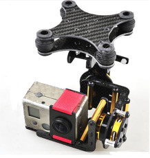 F05684 Brushless Camera Mount Gimbal Full Set Tested For Gopro 2 FPV Aerial Photography W/ Motor Control Board +US Free