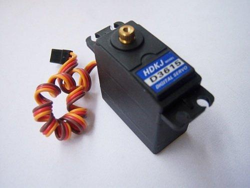 F03712-5 High Quality HDKJ  56G Torque 15kg .cm Metal gear Digital standard servo For rc car boat plane robot