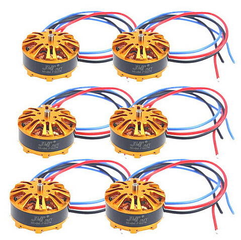 6PCS/LOT HYD 3508 700KV 198W Disc Motor for Drone Multi-axis Aircraft Multirotor Quadcopter