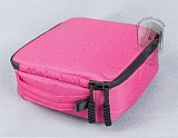 2pcs Camera Space 20*20*7 Weather Resistant Soft Case Storage Bag for Gopro Hero 3+ 3 2 Color Pink