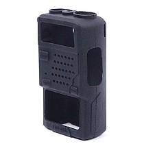 Q14765 Protective Soft Case Rubber Soft Handheld Cover Holster for Baofeng Two Way Radio UV5R UV-5RA UV-5RB UV-5RC (Blac