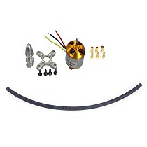 F02015-AA A2212 1000KV Brushless Outrunner Motor W/ Mount with 3 Pairs 3.5MM Banana Plug ( Male and Female) Quad copter