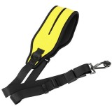 Camera Quick Rapid Damping Shoulder Neck Strap Belt with Screw for Canon Nikon Sony DSLR Yellow