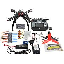 310 mm Fiberglass Frame DIY GPS Drone FPV Multicopter Kit Radiolink AT10 2.4G Transmitter APM2.8 1400KV Motor 30A ESC