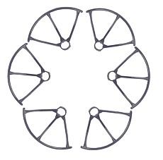 F15447/48 MJX X800 RC Drone Spare Parts: 3 Pairs Propeller Guard Bumper Protectors for MJX Hexacopter 6 Axis Gyro UAV