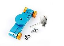 F09889 TMC Folable Pocket Stabilizer Grip Mount Monopod Aluminum Monopod Blue Color for Gopro Sport Camera