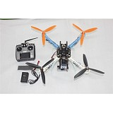 DIY Drone Upgraded Full Kit S500-PCB 1045 3-Propeller 4Axis Multi QuadCopter UFO RTF/ARF with 2-Axis Camera Gimbal