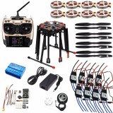 DIY GPS Drone Tarot X8 TL8X000 8-Axis Folding Frame 350KV 40A PX4 32 Bits Flight Controller Radiolink AT9S Transmitter