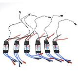 6pcs XT-XINTE Platinum-30A-Pro 2-6S 30A Speed Controller ESC OPTO For Hex Multi Rotor Hexacopter Drone