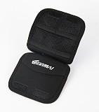 EIRMA Multifunction Anti-shock UV Lens Bag SD CF Storage Case Black Blue 2Color 117*23*117mm