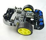 51 MCU Learning Laser Sensor Tracking Smart Car