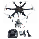 Assembled Full Set Drone RTF HMF S550 Frame GPS APM2.8 Flight Control with Compass AT10 TX/RX 2-axis Gimbal