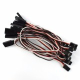 10pcs(1 lot) 300MM 30CM Servo Extension Wire Cable Cord For Futaba Wfly