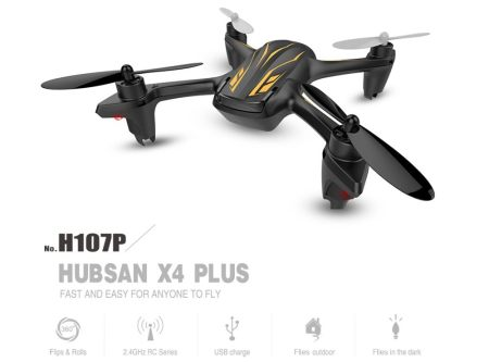 Hubsan X4 Plus H107P 4CH Hoogte Modus RC Quadcopter met LED RTF 2.4 GHz