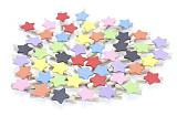 F10074 50pcs Colors Mix Mini Star Wooden Clip Photo Star Wooden Clip