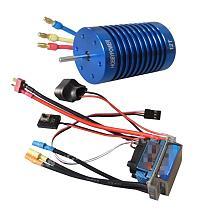 C Brushless Combo for 1/10 1/12 Car Truck 60A ESC Brushless Speed Controller + 9T/10T/12T 3330KV Motor