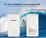 S01051 CREATED P10A Power Bank 10400mah Portable Charger Intelligent Safe Ultra Thin Polymer Li Battery for Smartphone T