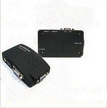 VT-520 AV to VGA TV TO PC Signal TV S-Video Converter Adapter Switch Box