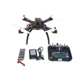 4-Axis Assembled RC Helicopter with APM2.8 Flight Control+FS-i6 6CH Transmitter+GPS+11.1V 3300Mah Battery
