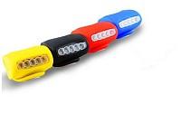 LED Silicon Lamp Rear Light Tail Light Caution Light 5 + 2 Model for Bike Cycling Mountain Bike Random Color