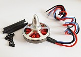 350KV Brushless Disk Motor high Thrust With Mount For Octacopter Hexa Multi Copter Aircraft