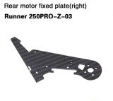 Walkera Rear Motor Fixed Plate Runner 250PRO-Z-02 Runner 250PRO-Z-03 for Walkera Runner 250 PRO GPS Racer Drone RC Quadc