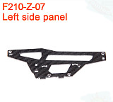 Walkera F210 RC Helicopter Quadcopter spare parts F210-Z-07 Left Side Panel Plate