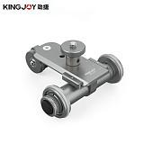 Kingjoy PPL-06 Motorized Electric 3-Wheel Video Pulley Car Track Dolly Rolling Slider Skater for Cannon Nikon Camera